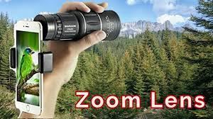 <b>Cell Phone Zoom</b> Monocular Lens Review - YouTube
