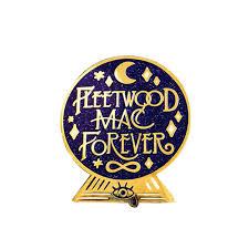 Fleetwood <b>Mac</b> Forever Crystal Ball Hard <b>Enamel</b> Cloisonne Glitter Pin