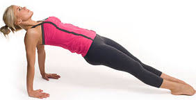 Image result for woman reverse planks