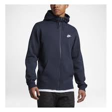 <b>Толстовка NIKE</b> Sportswear Hoodie 804389-451 мужская, <b>цвет</b> ...