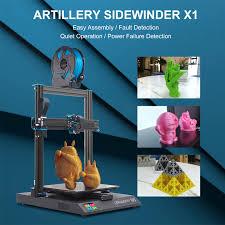 <b>Artillery Sidewinder</b> SW <b>X1</b> 3D Printer V4 Newest Model 95% <b>Pre</b> ...