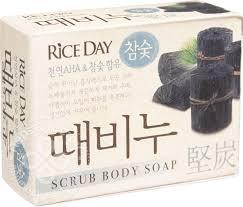 Купить <b>Мыло туалетное</b> Rice Day Древесный уголь с эффектом ...