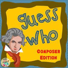 <b>Music</b> Composer <b>Game</b> - Guess Who! by Little House <b>Music</b> ...