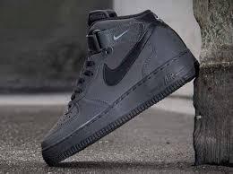 nike air force 1 mid dark charcoal black air force 1 mid