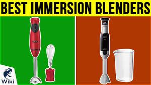 <b>Top</b> 10 <b>Immersion Blenders</b> of 2019 | Video Review