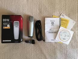 <b>Студийный</b> конденсаторный USB-<b>микрофон</b> Samson C01U