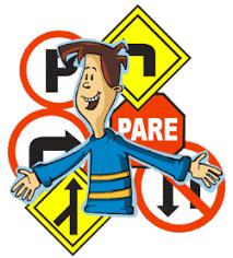 normas de transito para conductores que hacer y que no