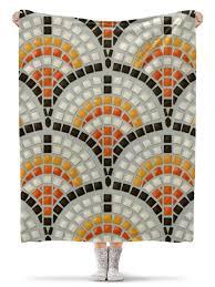 Плед флисовый 130х170 см Античная <b>Мозаика</b> #1776846 ...