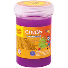 <b>Слизь</b> для рук <b>Мульти</b>-<b>Пульти</b>, с <b>игрушкой</b>, фиолетовая, 250г ...