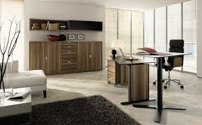 corner built office furniture