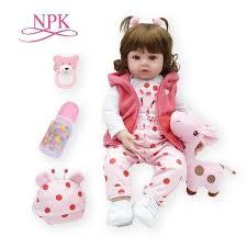 <b>bebes reborn doll</b> 48cm New <b>Handmade</b> Silicone reborn <b>baby</b> ...