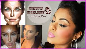how to contour highlight diffe face shapes contouring for beginners dark tan indian skin you