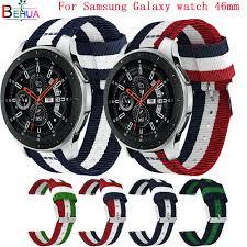 Nylon Sport <b>Strap</b> band 22MM <b>watch band</b> For Samsung Galaxy ...