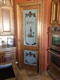 kitchen design glass doors