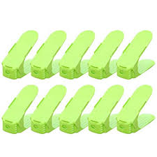 Shoe Rack 10pcs Organizer <b>Home Storage Durable</b> Adjustable ...