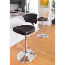 image quarter bamboo bathroom stool lumisource ravinia adjustable height swivel bar stool