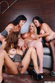 Shemale Carmen Moore Shemales and Lingerie Shemales And Lingerie Blog presents TS Gangbang With Alura Jenson