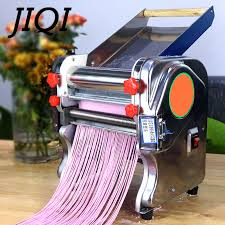 JIQI Electric Stainless steel <b>Pasta Maker Automatic Noodle Pressing</b> ...