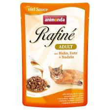 <b>Animonda Rafiné паучи</b> для кошек | выгодно купить в zoochic-eu.ru ...