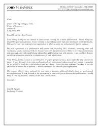 cover letter for freshers template cover letter for freshers