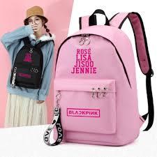 <b>1 Pcs 2019 New</b> Korean Kpop Blackpink Backpack School Bag ...