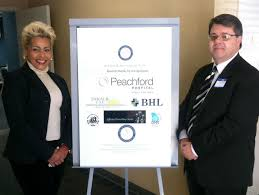 Debra DeBerry  Clerk of Superior Court with Dr  Joseph Bona  Chief Medical Officer of DeKalb Community Service Board