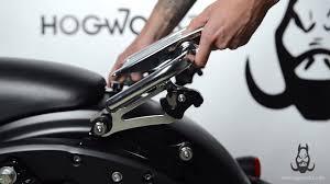 HogWorkz - <b>Detachable Stealth Luggage</b> Rack for '09+ Harley ...