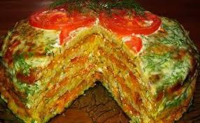 Картинки по запросу Рецепт приготовления капустного торта с фаршем