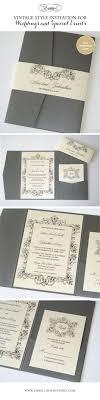 17 best ideas about elegant wedding invitations vintage wedding invitation elegant wedding invitation r tic wedding invite lace invitation pewter grey white ava sample