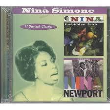 <b>Nina Simone Forbidden</b> Fruit/Nina Simone at Newport CD | Walmart ...