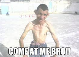Come At Me Bro Handsome Guy   Funny As Duck   Funny Pictures via Relatably.com