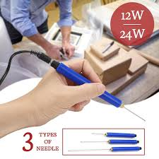 5/10/15cm 12/24W Electric Foam Cutting Tool Foam Cutter Pen ...