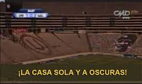 Universitario: Memes tras el apagón sufrido en el Estadio ... via Relatably.com