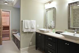 bathrooms with dark brown cabinets paint color brown bathroom furniture