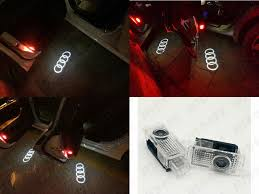 <b>2x For Audi A4</b> A6 Q7 Car Door 3D Welcome LED Lamp Projector ...