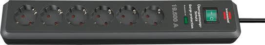 1159540366 <b>Brennenstuhl сетевой фильтр</b> Secure-Tec 19.500А, 2 ...