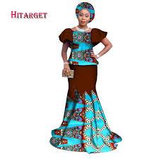 <b>Hitarget 2019 african</b> bazin riche dresses for women fashion <b>new</b> ...