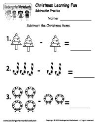 Free Kindergarten Christmas Worksheets - Keeping up with the ...Christmas Spelling Worksheet · Christmas Subtraction Worksheet