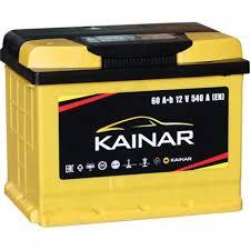 <b>Аккумуляторная батарея KAINAR 6ст</b>-60 (о.п.) 530А 242*175*190