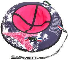 <b>Тюбинг SnowShow X-line</b> Paris купить недорого в Минске, обзор ...