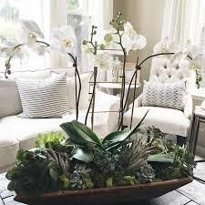 day orchid decor: my dear friend asked if i could put something together for her large bay window in