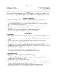 s admin executive resume