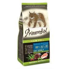 <b>Сухой корм PRIMORDIAL</b> для кошек, беззерновой, лосось/тунец ...