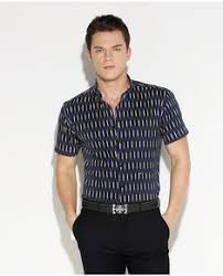 Elegant Printed Men Casual Shirts <b>Short Sleeve</b> Pure Cotton <b>High</b> ...