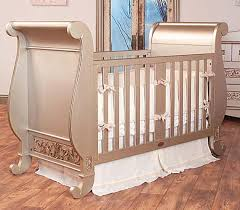luxury baby crib sleigh design antique appearance nursery room furniture baby nursery furniture designer