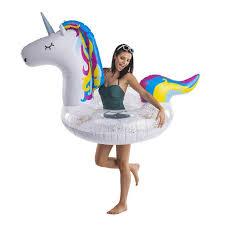 <b>Надувной круг BigMouth Unicorn</b>