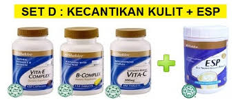 Image result for set kecantikan shaklee
