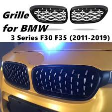 <b>A Pair Front Kidney</b> Grille For BMW New 3 Series F30 F35 2011 ...