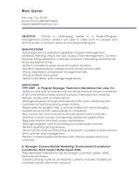resume template  objective for manager resume  objective for        resume template  objective for manager resume with employment as program manager  objective for manager