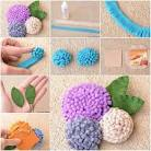 Как сделать цветочки для топиария